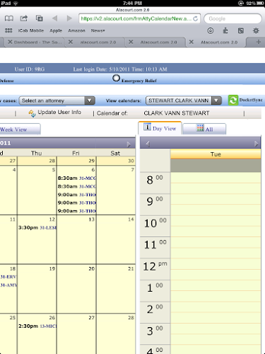 Alabama Lawyers: Let DocketSync Do the Heavy Calendar Lifting