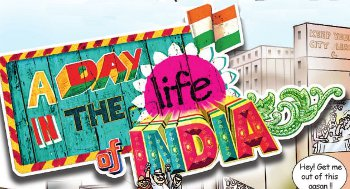 A day in the life of India