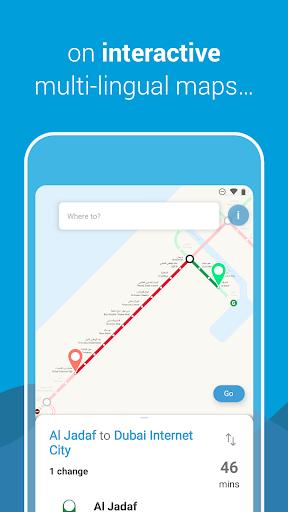 Dubai Metro screenshot