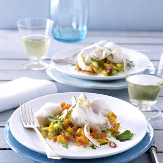 Cod with Mango Coconut Curry