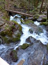 Photo: Blick zurück auf Wasser und Brücken