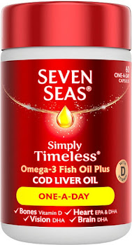 Seven Seas Cod Liver Oil One-A-Day - 60 Capsules