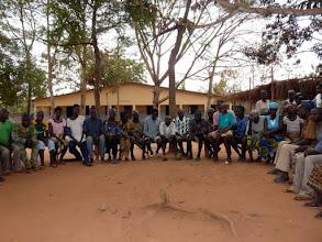 Photo: ici au Centre Psychiatrique de Madjré que nous connaissons depuis l'année dernière, où 48 malades résident et sont très bien soignés par des responsables bénévoles professionnels