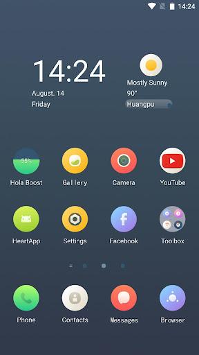 Circular Hola Launcher テーマ|玩個人化App免費|玩APPs