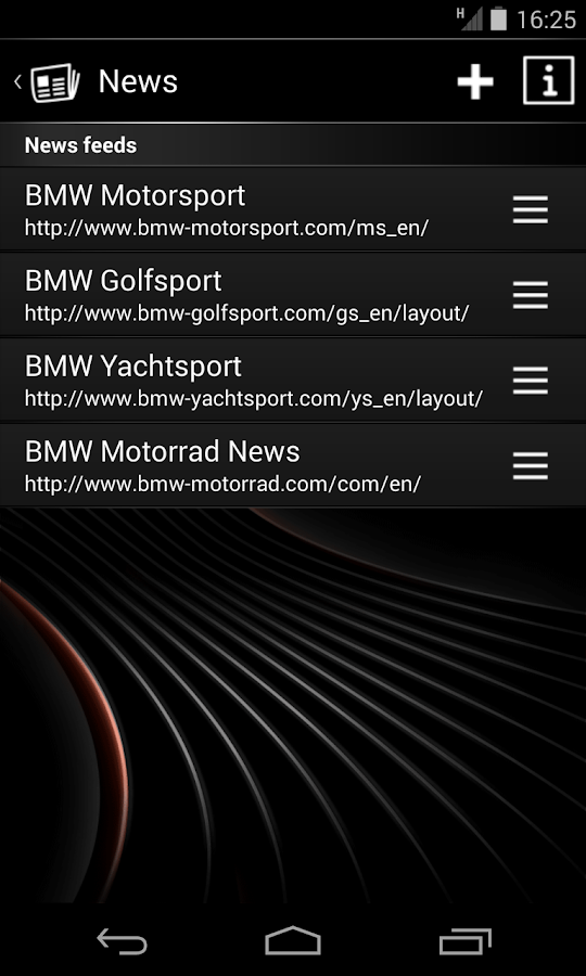 BMW Connected- screenshot