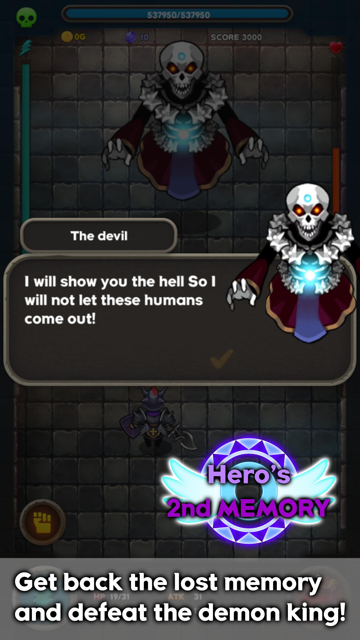 Hero's 2nd Memory : Shooting RPG screenshot #2