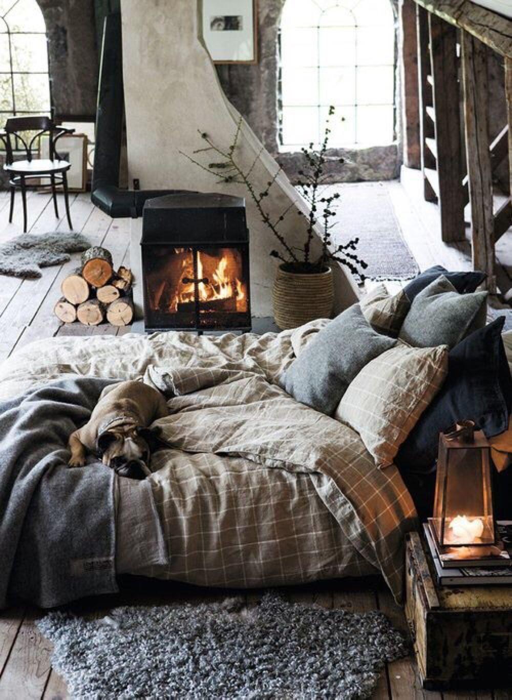 Cozy Bedroom Fireplaces