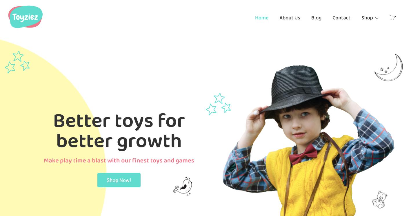 Toy Shop WordPress Theme