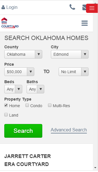 HomesByJarrett MLS Home Search- screenshot
