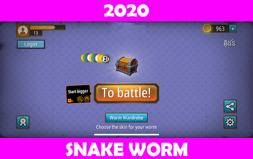 Snake Zone : wormbattle.io  screenshots 1
