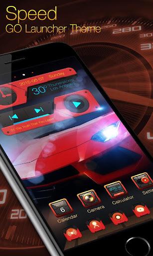 Speed GO Launcher Theme