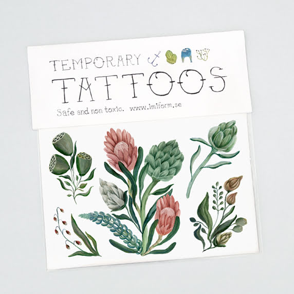 IMIForm Giftfria Barntatueringar - Flora