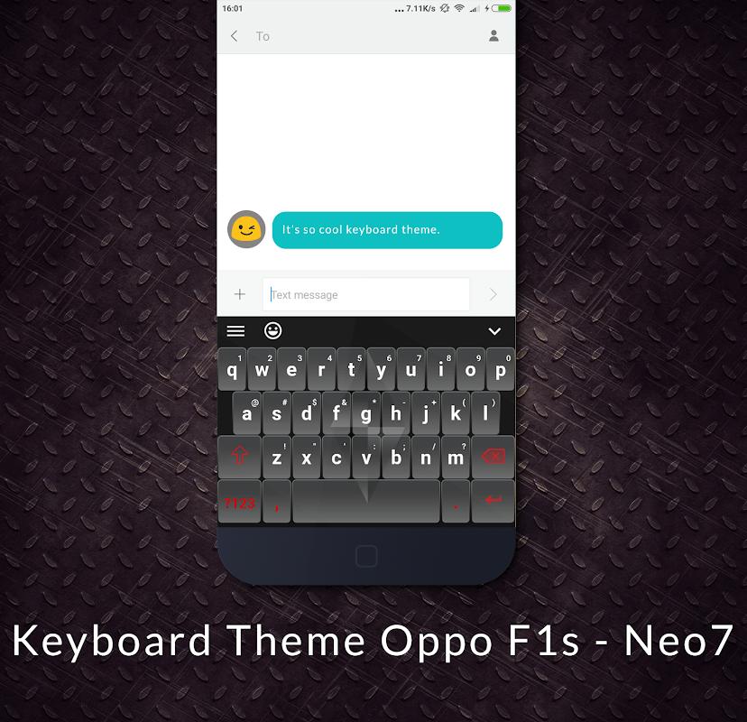 Download Keyboard Theme Oppo F1s - Neo7 APK 1 1 by BestFree
