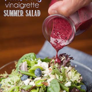 Blueberry Vinaigrette Summer Salad