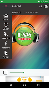 Radiostudioweb- screenshot thumbnail