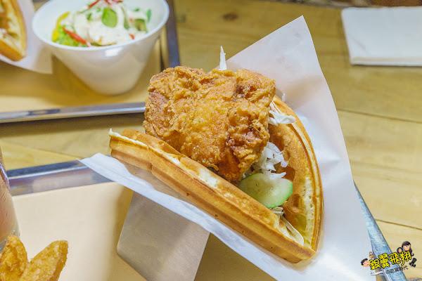 台南超夯雞排鬆餅重新開幕!還有推出平價百元定食也有不能錯過的人氣吮指炸雞!快來16食~