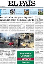Photo: Los mercados castigan a España al desconfiar de las medidas de ajuste y el Ejército de EE UU será pequeño y con Asia como prioridad, en nuestra portada http://www.elpais.com/static/misc/portada20120106.pdf