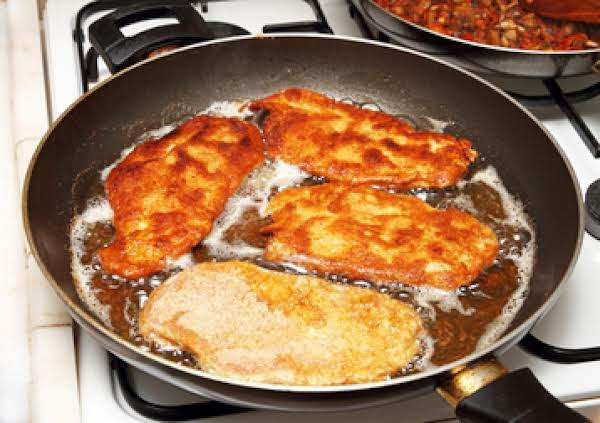 Jaeger Schnitzel With Thyme And Parsley