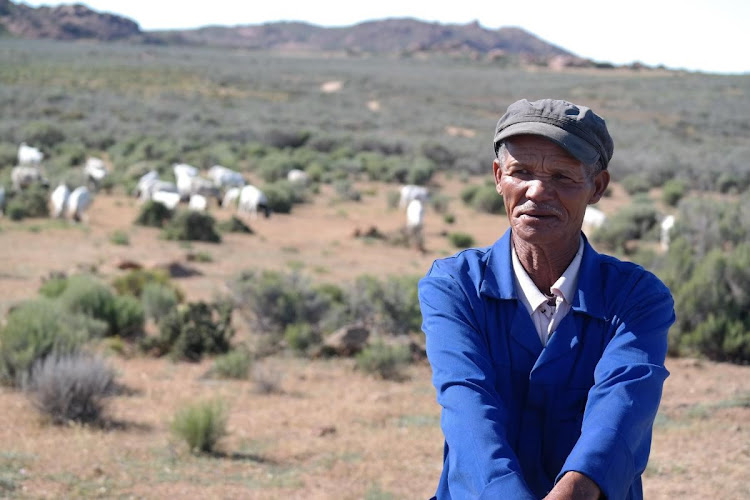 Northern Cape farmers affected by climate change.