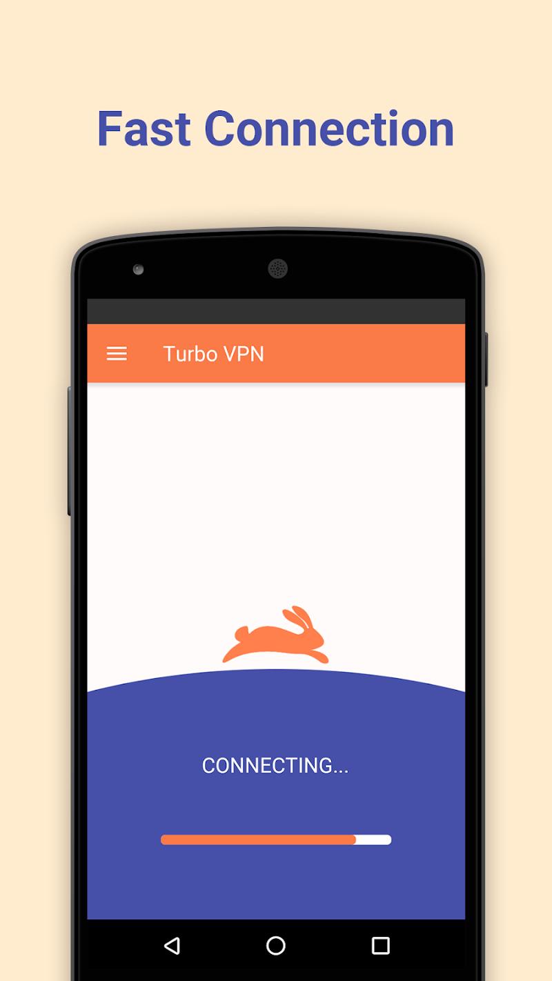 Turbo VPN – Unlimited Free VPN & Fast Security VPN Screenshot 1