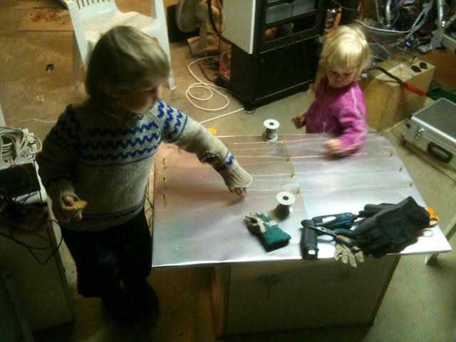 Building Vacuum Plastic Molder heater