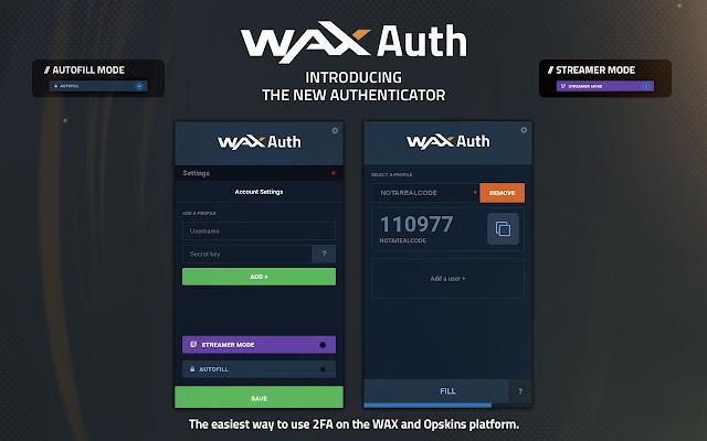 WAXAuth