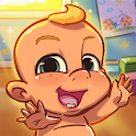 Push Push Baby: Sumo Battle Babies &  Puzzle Games icon