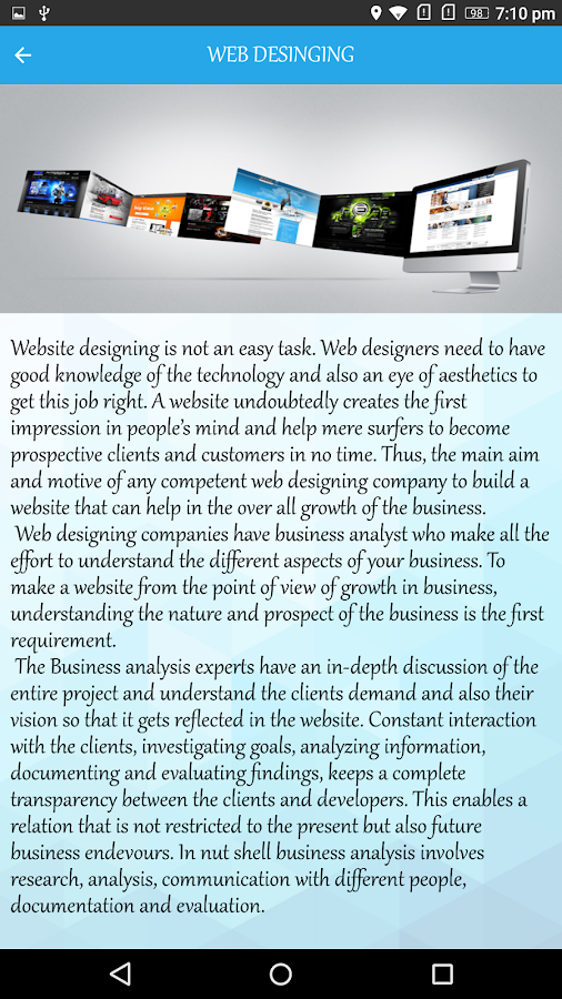 Seven Star Websolutions- screenshot