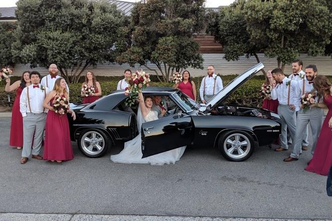 1969 Chevy Camaro SS - 427/5-speed Wedding Car! Hire California