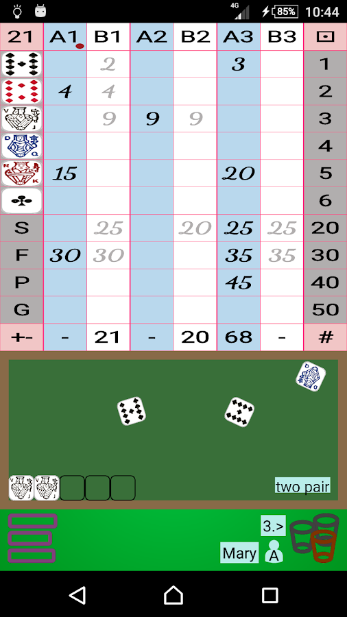 Escalero Dice- screenshot