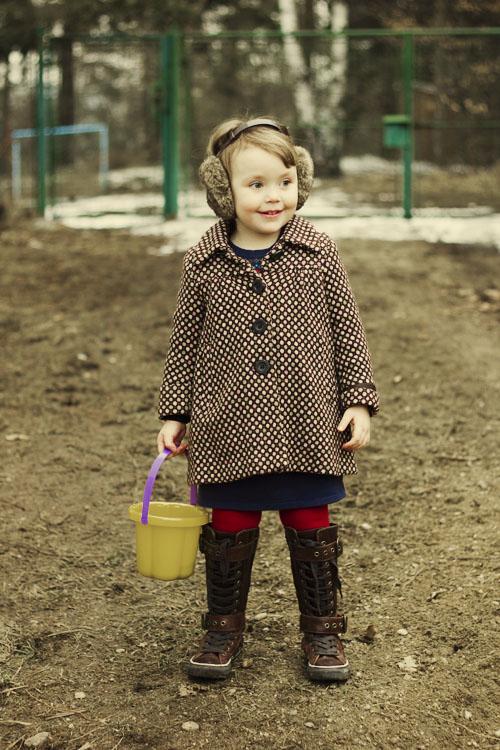 (a jako bonus mladší modelka - její dcera. Nějak podobně by to určitě mohla  nosit i dospělá )) 6394656824