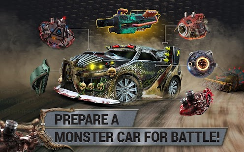KillerCars - death race on the battle arena- screenshot thumbnail