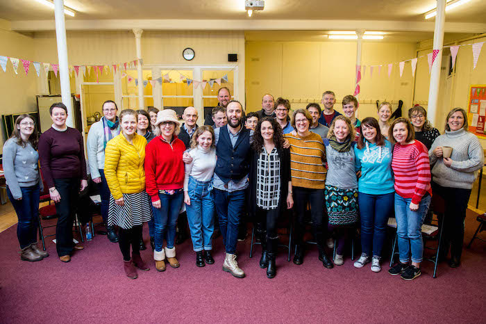 Newtown choir singers to perform at Cardiff premiere