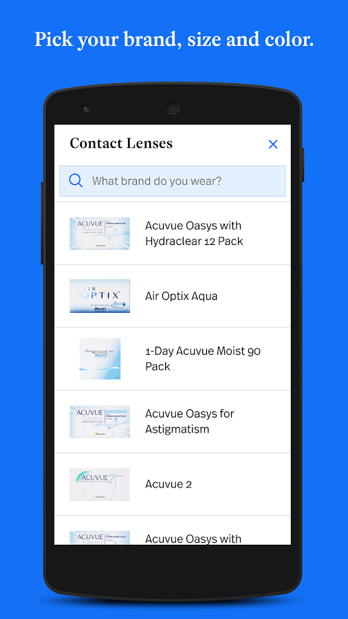 Simple Contacts - Prescription Renewals and Lenses- screenshot