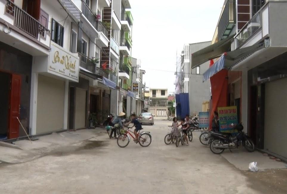 Quang cảnh khu tập thể may mặc Việt Đức khối 12, phường Hồng Sơn sau khi được quy hoạch tái định cư tại chỗ