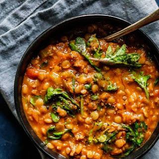 Instant Pot Lentil Soup with Sausage and Kale Recipe