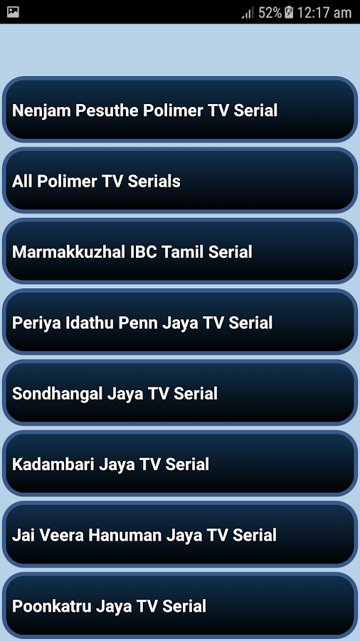 All Tamil TV Shows- screenshot