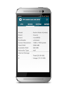 CPU mobile tools info 2018 - náhled
