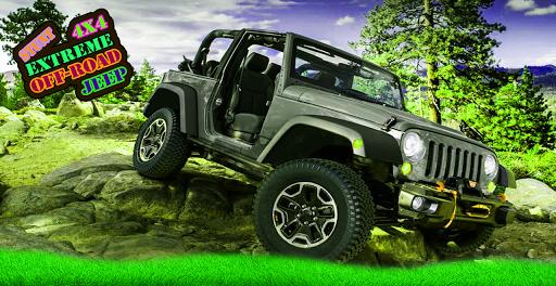 4x4 Extreme Off-Road Jeep Stunts  screenshots 1