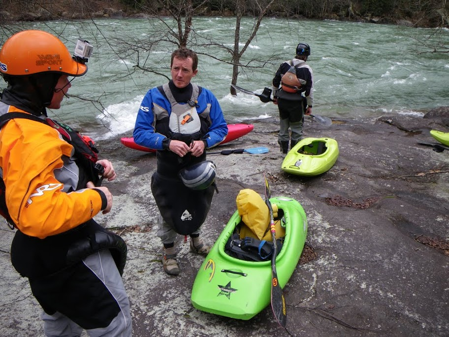 Running the Gauley at 15k