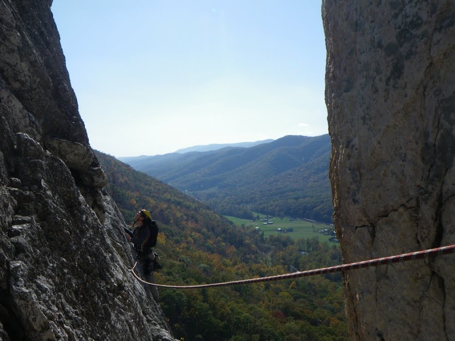 Climbing at Seneca
