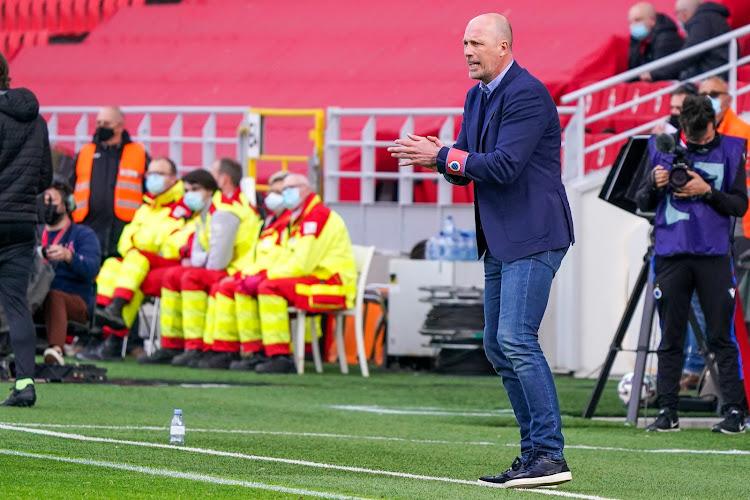 "Philippe Clement teleurgesteld in ploeg: ""We waren dit weekend al verwittigd geweest"""