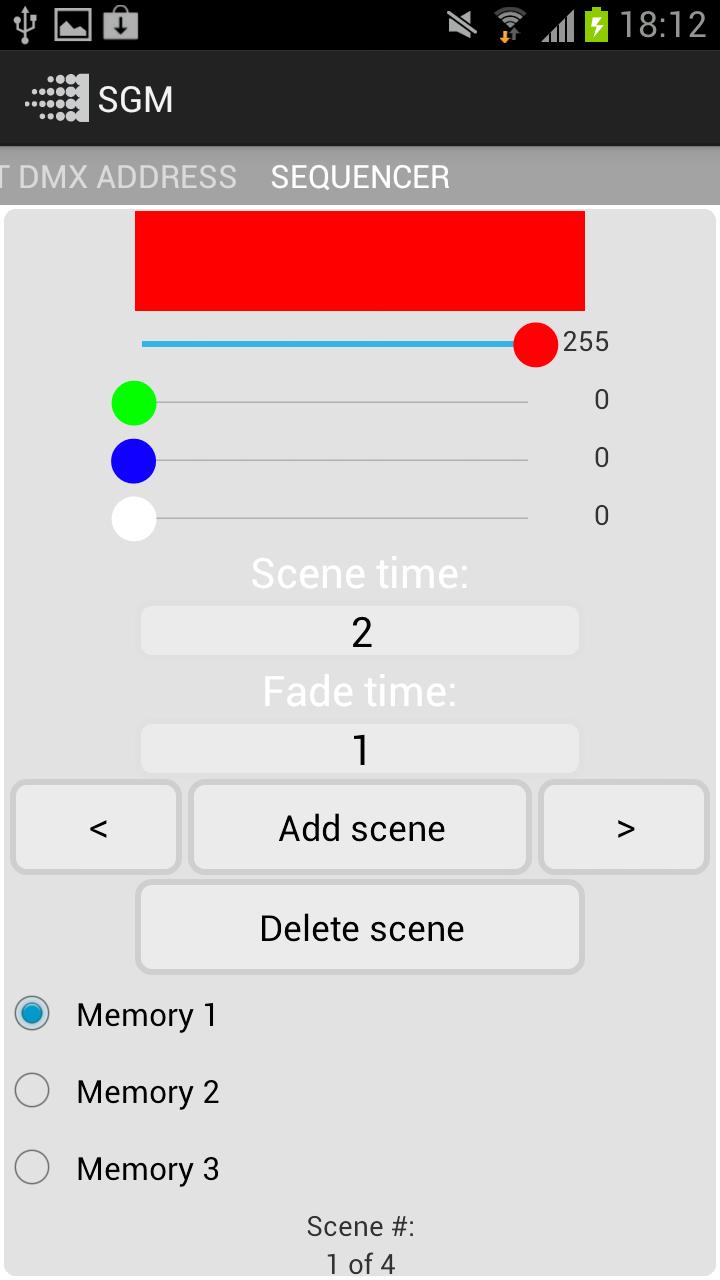 Скриншот SGM Tool