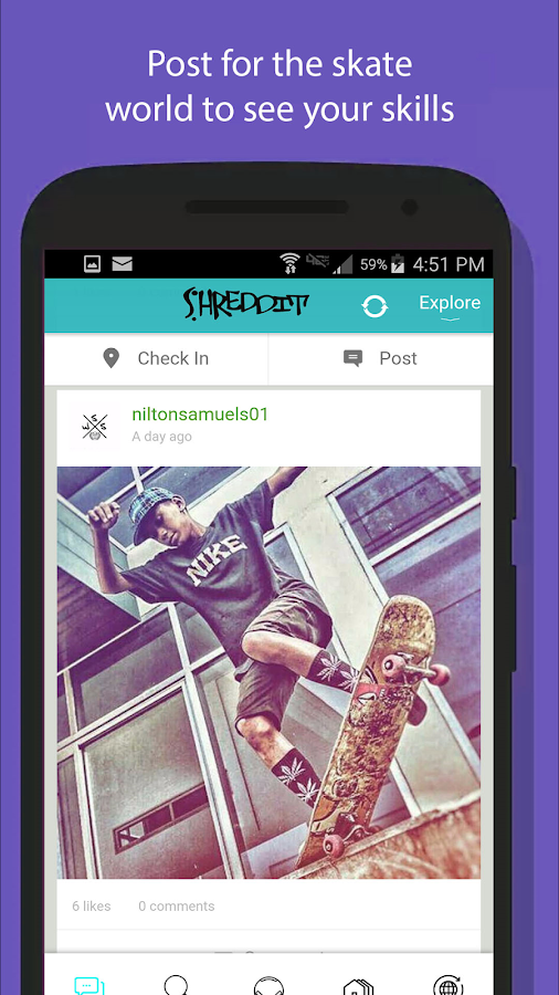 Shreddit: Skateboarding- screenshot