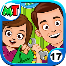 My Town : Car wash fix & drive 1.0 Apk