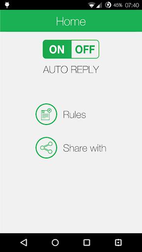 Auto Reply Call Reply