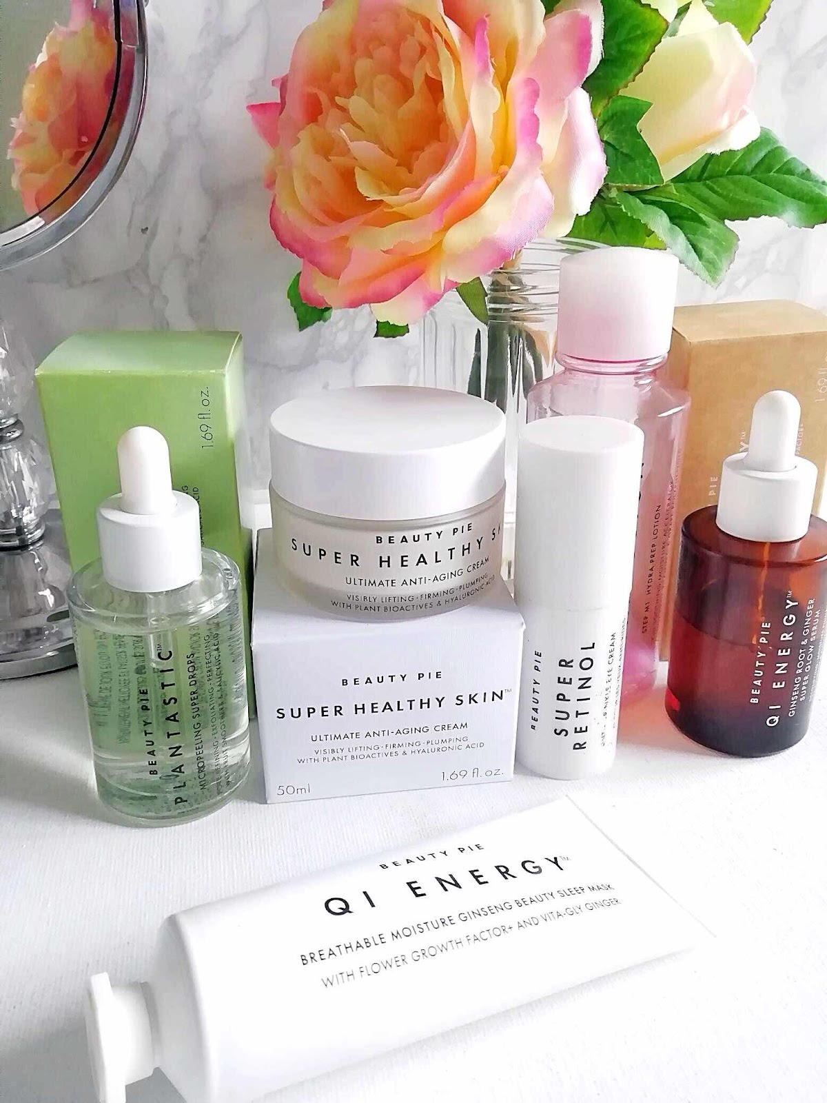 discovering skincare from Beauty Pie