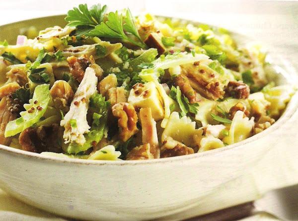 Citrus Walnut Pasta Salad Recipe