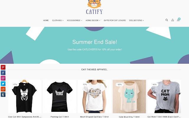 Cat Themed Gifts for Women from Catify.co