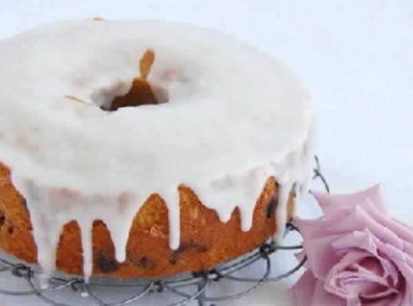 Blueberry Tea Cake With Lemon Glaze Recipe
